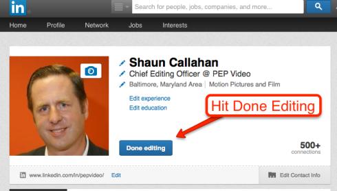 Linkedin Step 5